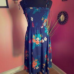 Express: Blue Floral Dreas